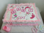 1 Tier Square Sheet Diaper Cake Baby Shower Centerpiece Gift Boy Girl Unisex
