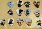 Guitar Picks - Guitar Plectrum - Minion Design - 1.00mm Guitar Pick - Despicable
