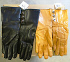 Coach Women's Leather Turn-Lock Cashmere Lined Wrist Gloves 82825 Sz 6.5 /$168