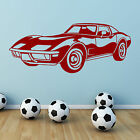 79 Corvette American Car Vinyl Wall Art Sticker Decal Boys Teenagers Bedroom