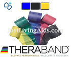GENUINE THERABAND - 3 Pack [Blue-Black-Gold], RESISTANCE BANDS, PHYSIO, YOGA