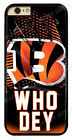 Cincinnati Bengals NFL Rugged Hard Phone Cover Case For Touch/ iPhone/ Samsung