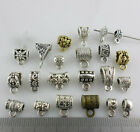 Mixed Silver/Gold/Bronze Connectors Spacer Bail Beads Charms DIY Jewelry Making