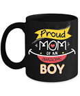 Proud Mom Of An Awesome Boy For Mommy Home Office Coffee Mug