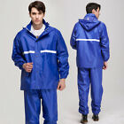 Impermeable durable Motorcycle Raincoat Rain Pants Suit Riding Bicycles fishing