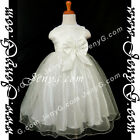 SBI8 Girls Wedding Graduation Cocktail Holy Communion Birthday Prom Gown Dress
