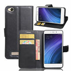 Flip Magnetic Card Slot Wallet PU Leather Phone Case Cover For Xiaomi Redmi 4A