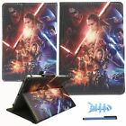 Universal 7* Inch Android OS Tablet Case Stand Flip Cover CARTOON STAR WARS
