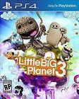 Brand New Sealed Little Big Planet 3 for Playstation 4 PS4 Video Game 2014