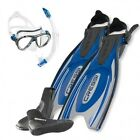 Cressi Set Frog Plus Blue 02UK