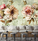 3D Butterfly Flower 5 Wall Paper Wall Print Decal Wall Deco Indoor AJ Wall Paper