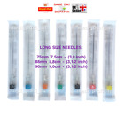 0.7x50 0.8x50 0.9x50mm, 2 inch LONG NEEDLES KDM KD-FINE STERILE TOP QUALITY FAST