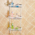 Aluminium Wall Mounted Bathroom Corner Shower Caddies Storage Shelf Rack Holder