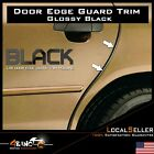 Durable 35ft/40ft Black &Silver Molding Strip Self Adhesive Door Side Edge Guard