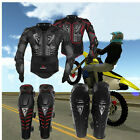 Motorcycle Motorcross Racing Full Body Armor Spine Chest Protector Jacket