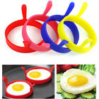 2x Kitchen Cooking Silicone Fried Oven Poacher Pancake Egg Poach Ring Mould UKFO