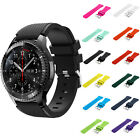 New Luxury Silicone Replacement Watch Band Bracelet For Samsung Gear S3 Frontier