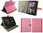"""Stylish PU Leather Wallet Case Cover with Card Slots fits Tesco Hudl 2 8.3"""" Inch"""