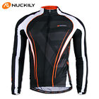 Mens Cycling Bike Bicycle Jersey Top Long Sleeve Clothing Jacket