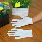 Wholesale White Inspection Cotton Lisle Work Gloves Coin Jewelry Lightweight New