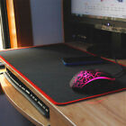ღExtended Gaming Mouse Mat/Pad XXL Large Black Mousepad Stitched Edges 60x30cm ღ