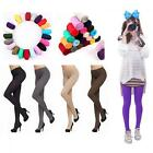 Colors 120D Thick Women Stockings Pantyhose Opaque Footed Socks Tights