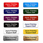 Personalised Engraved Staff Name Badges Trainee Apprentice Solicitor Group Club
