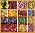 Natural Dried Flowers - Bath Bomb ,Soap, Candle, Craft, Biodegradable Confetti