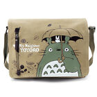 Anime My Neighbor Totoro Luffy One Piece Canvas Messenger Shoulder Bag Cosplay