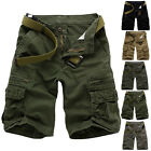 Summer Men Men's Work Baggy Sports Shorts Pants Casual Cargo Combat Trousers New