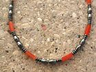 Men's Powerful Magnetic Hematite Red Carnelian NECKLACE BRACELET ANKLET 1 Row