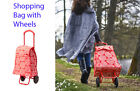 IKEA Shopping Bag with Wheels KNALLA Shopping Cart Assorted Colors NEW