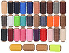 260m 1MM Leather Sewing Wax Thread For Chisel Awl Upholstery Shoes Luggage abus