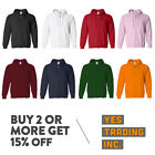 MENS WOMENS UNISEX PLAIN FULL ZIPPER HOODIE CASUAL HOODED ZIP UP JACKET ACTIVE