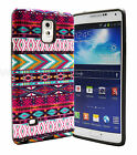 For Samsung Galaxy Note 4 Slim Hybrid Rubber Hard Protective Case Cover BLACK