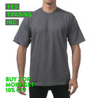 PROCLUB PRO CLUB MENS PLAIN T SHIRT HEAVYWEIGHT SHIRTS SHORT SLEEVE TEE BIG TALL <br/> **BUY 2 or MORE & GET 20% DISCOUNT** LIMITED PROMOTION