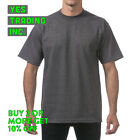 PROCLUB PRO CLUB MENS PLAIN SHIRT HEAVYWEIGHT SHORT SLEEVE T SHIRT Reg or TALL <br/> **BUY 2 or MORE &amp; GET 20% DISCOUNT** LIMITED PROMOTION