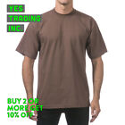 PROCLUB PRO CLUB MENS PLAIN T SHIRT HEAVYWEIGHT SHIRTS SHORT SLEEVE TEE BIG TALL <br/> **BUY 2 or MORE &amp; GET 20% DISCOUNT** LIMITED PROMOTION