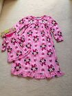 New Character Long-Sleeve Flannel Nightgown w Lace Toddler 2T,3T,4T Doll Dresss
