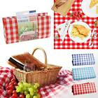 LARGE PICNIC BLANKET WASHABLE WATERPROOF MAT RUG TRAVEL PARTY BBQ CAMPING BEACH