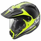 Arai XD-4 Adventure Helmet - ROUTE YELLOW Offroad Dual Sport Trail Motorcycle