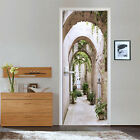 3D Corridor Arch 1 Door Wall Mural Photo Wall Sticker Decal Wall AJ WALLPAPER AU