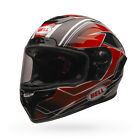 2017 Bell Race Star ECE Carbon Helmet - Triton Red/Black Track motorcycle