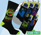 12 Mens SESAME STREET Cartoon Novelty 100% OFFICIAL Character Socks UK 6-11