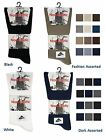 12 Mens No Non Elastic LYCRA® Cotton Rich Loose Wider Top Socks UK 6-11