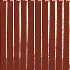 "Roasted Rouge Vertical Blind Slats 127mm (5"") Free Weights, Chains & Hangers"