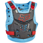 2017 Fox MX Mens Pro Frame LC Roost Vest - Red/Blue Armour Motocross Offroad