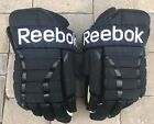 Reebok HGPRO 4 Roll Pro Stock Hockey Gloves Black 15 New Rampage 2852