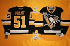 Hornqvist Pittsburgh Penguins Reebok Hockey Jersey 50th & NHL 100th patch 7185