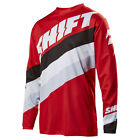 2017 Shift MX Mens WHIT3 Tarmac Jersey - Red Motocross Offroad Trail Enduro